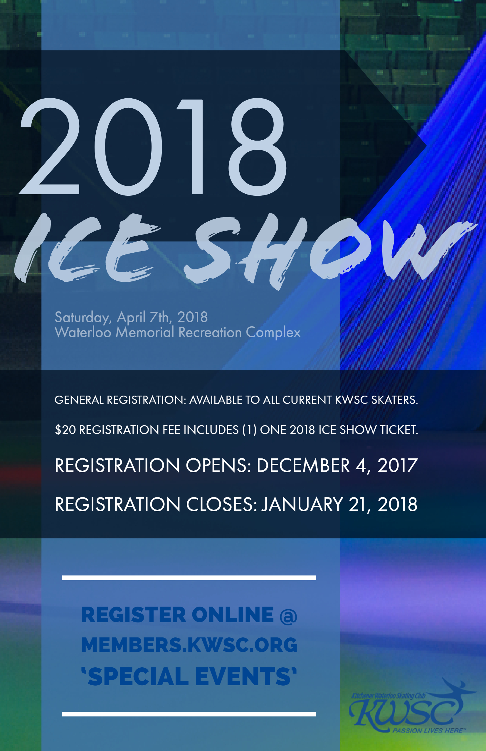 Ice Show Registration Reminder