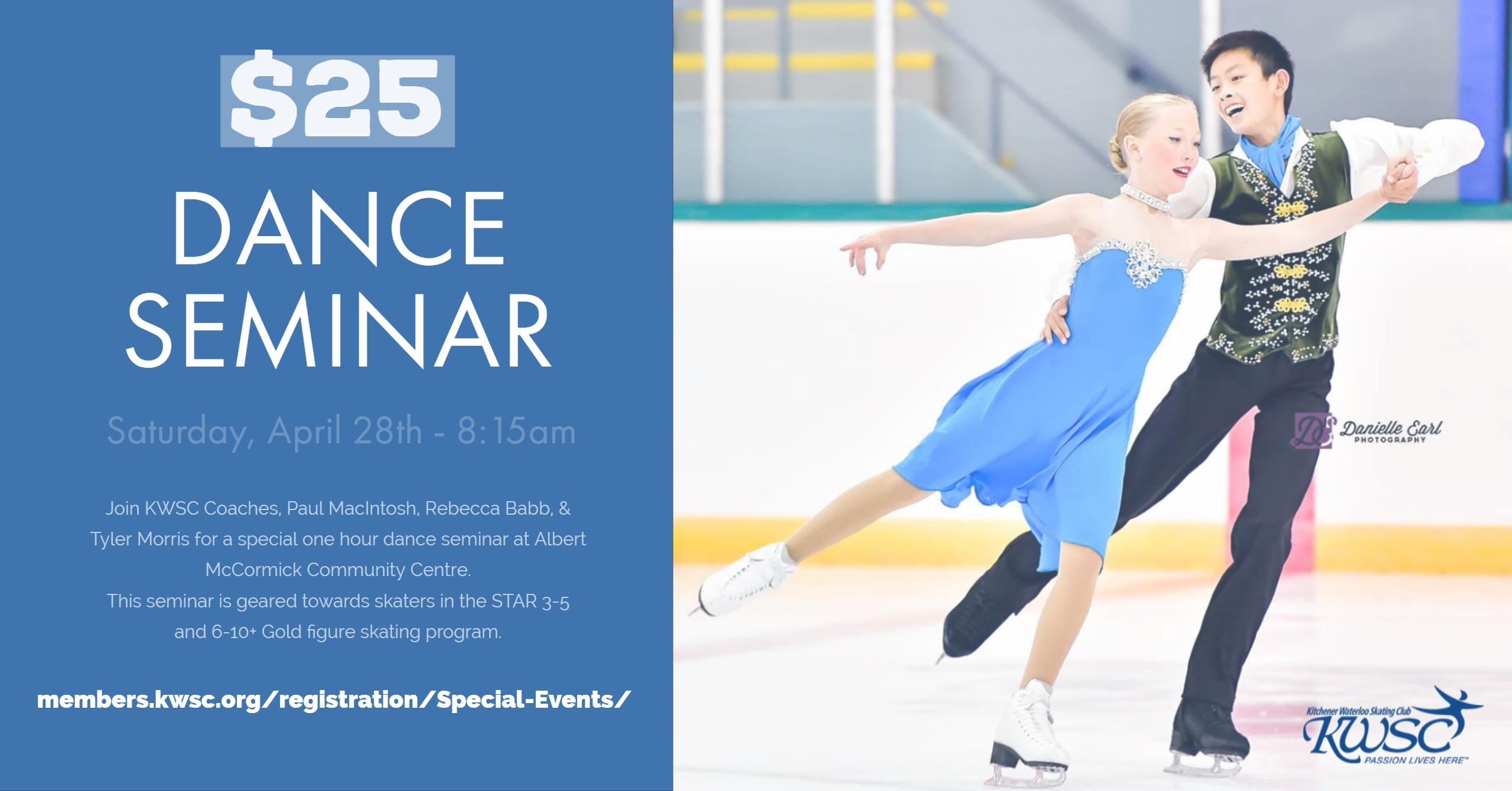 KWSC Dance Seminar - April 28th