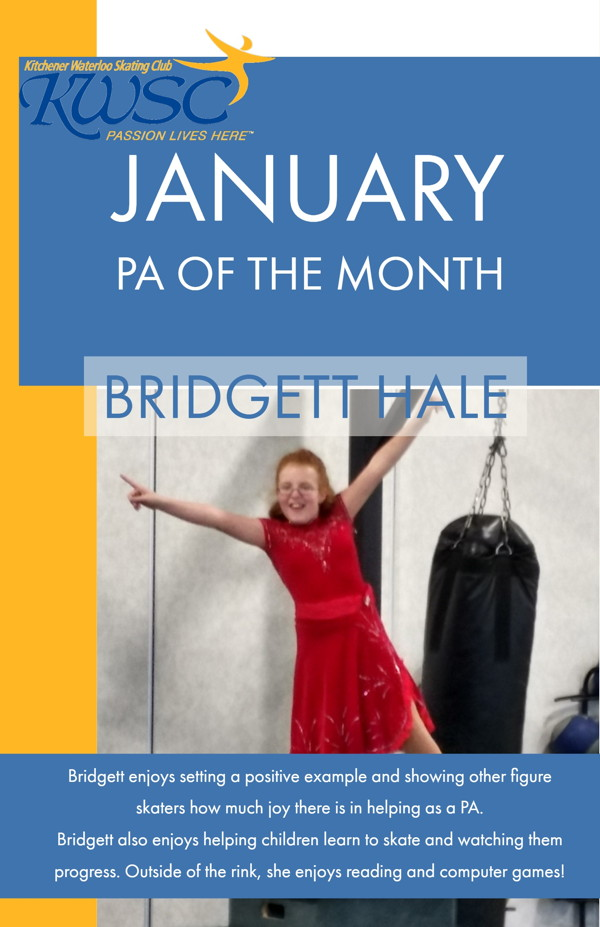 January PA of the Month