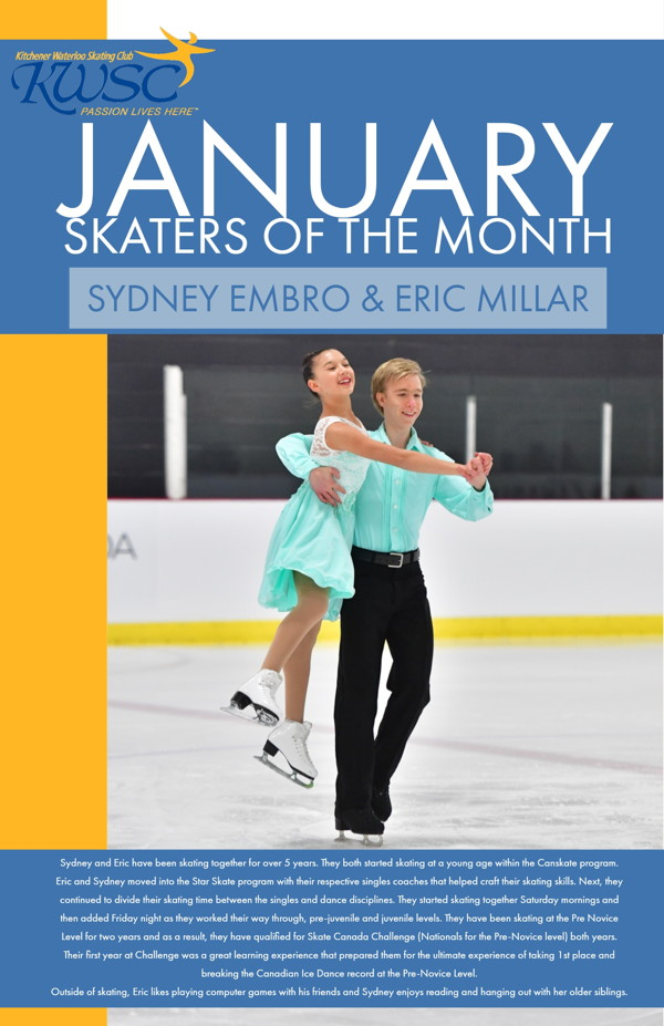 January Skaters of the Month