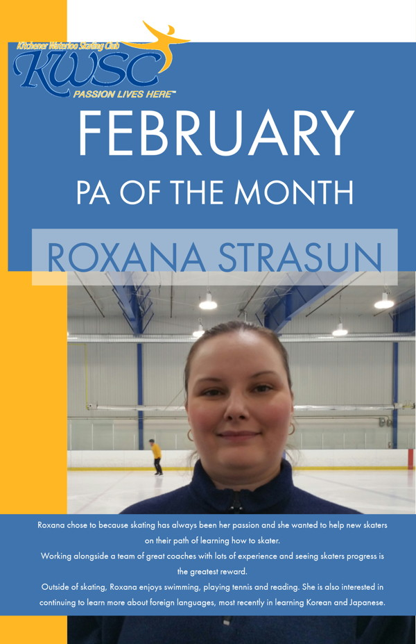 February PA of the Month