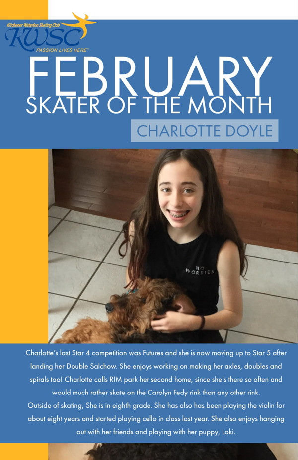 February Skater of the Month