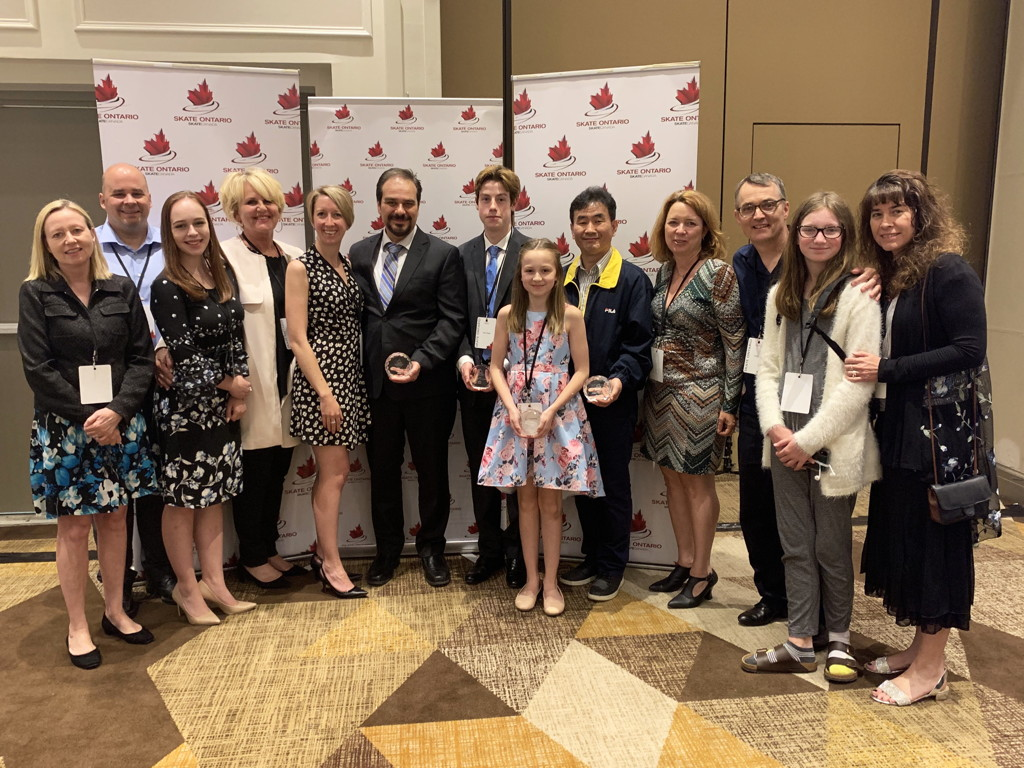 Congratulations Skate Ontario Section Award recipients from KWSC