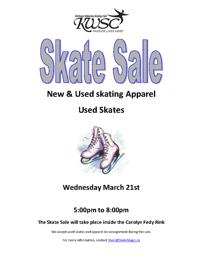 Next Skate Sale - March 21st