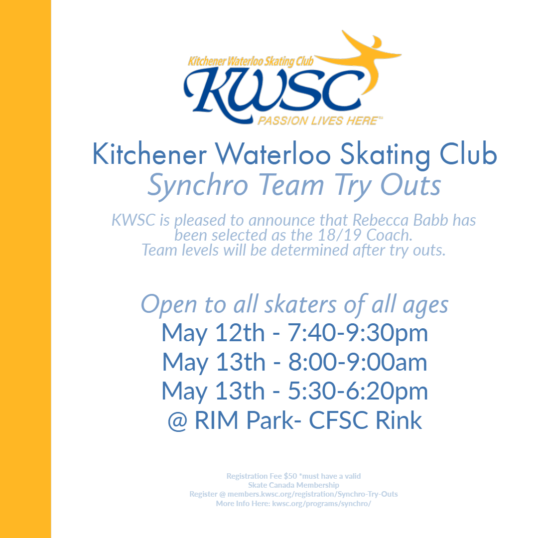 KWSC Synchro Team Try Outs